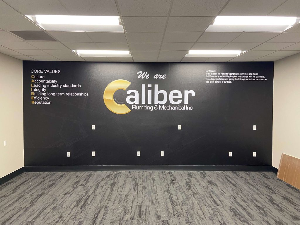 A wall wrap made by our Clackamas custom printing services